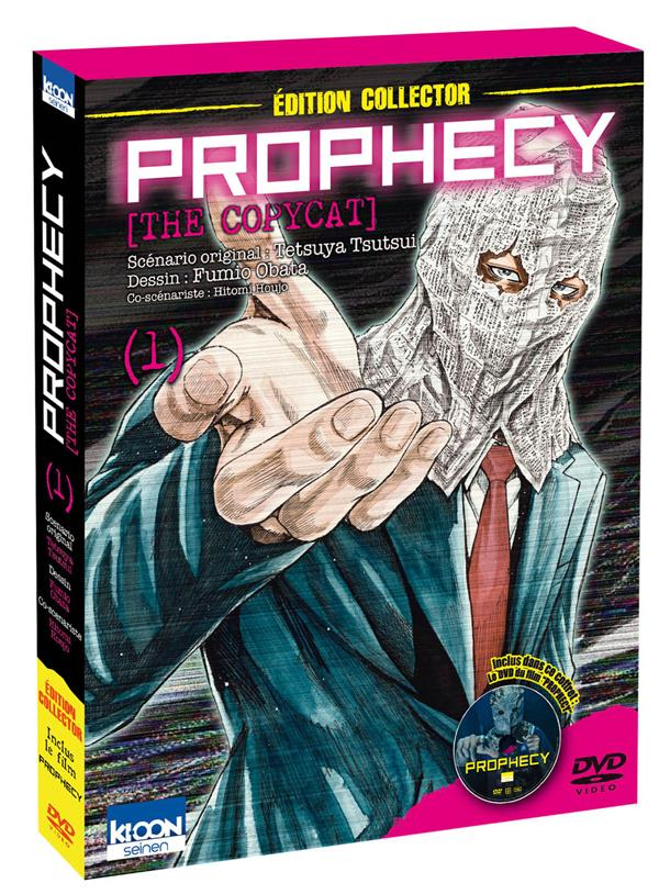 PROPHECY THE COPYCAT T01 - COLLECTOR AVEC DVD