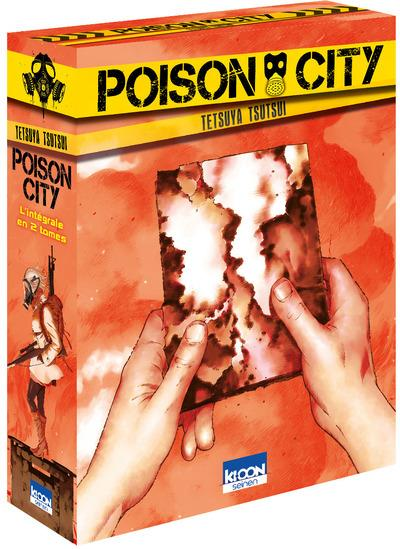 COFFRET POISON CITY  L INTEGRALE EN 2 TOMES