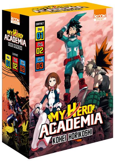 COFFRET MY HERO ACADEMIA - TOMES 1 A 3