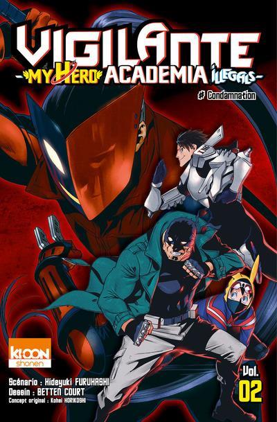 VIGILANTE - MY HERO ACADEMIA ILLEGALS T02 - VOL02