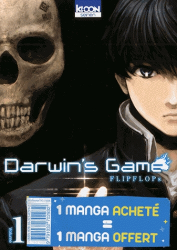PACK OFFRE DECOUVERTE DARWIN'S GAME T01 & T02