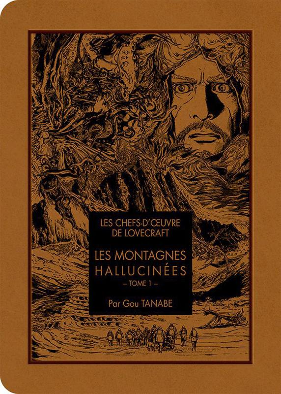 LES CHEFS D'OEUVRE DE LOVECRAFT - LES MONTAGNES HALLUCINEES T01