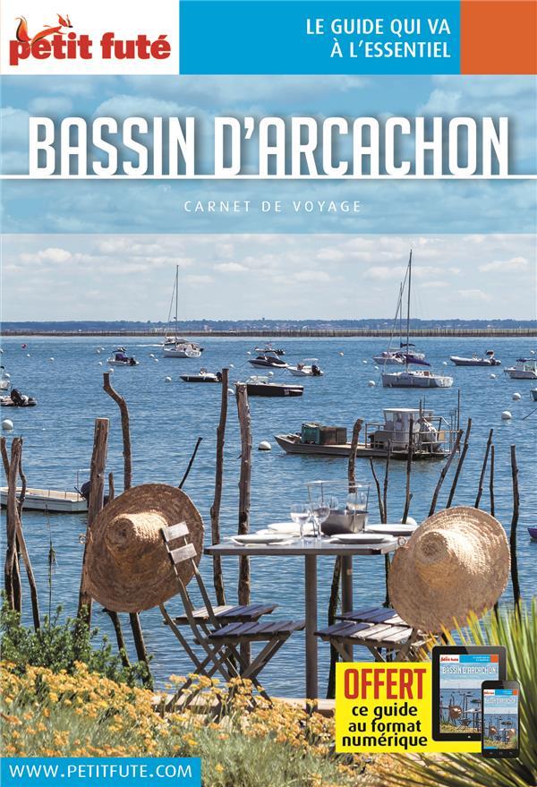 BASSIN D'ARCACHON 2018 CARNET PETIT FUTE +  OFFRE NUM