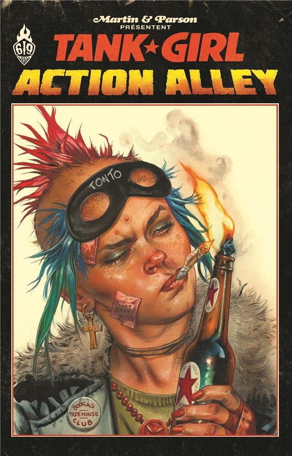 TANK GIRL ACTION ALLEY