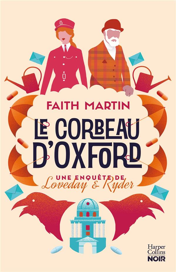 """LE CORBEAU D'OXFORD - POUR LES FANS DE """"COSY CRIME"""""""