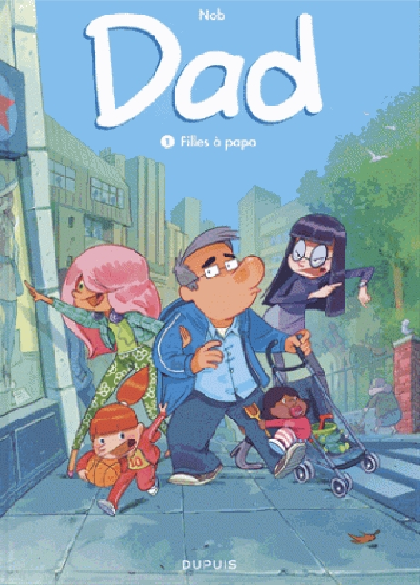 DAD - TOME 1 - FILLES A PAPA (INDISPENSABLES 2018)