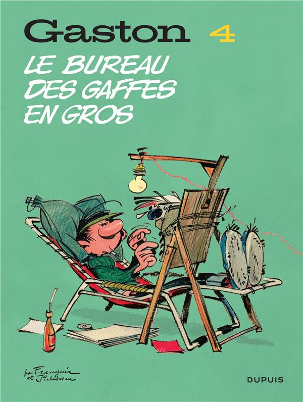 GASTON (EDITION 2018) T4 GASTON (EDITION 2018) - TOME 4 - LE BUREAU DES GAFFES EN GROS (EDITION 2018