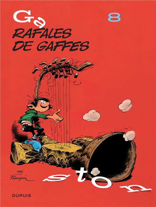 GASTON (EDITION 2018) T8 GASTON (EDITION 2018) - TOME 8 - RAFALES DE GAFFES (EDITION 2018)
