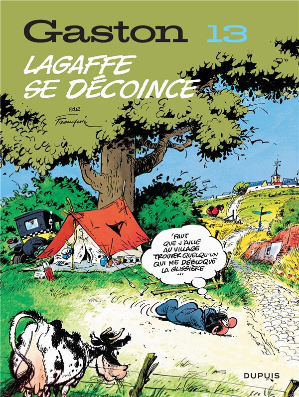 GASTON (EDITION 2018) - TOME 13 - LAGAFFE SE DECOINCE (EDITION 2018)