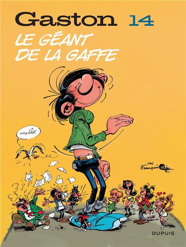GASTON (EDITION 2018) - TOME 14 - LE GEANT DE LA GAFFE (EDITION 2018)