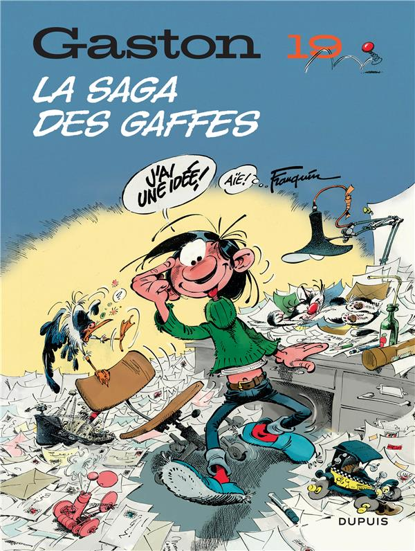 GASTON (EDITION 2018) T19 GASTON (EDITION 2018) - TOME 19 - LA SAGA DES GAFFES (EDITION 2018)