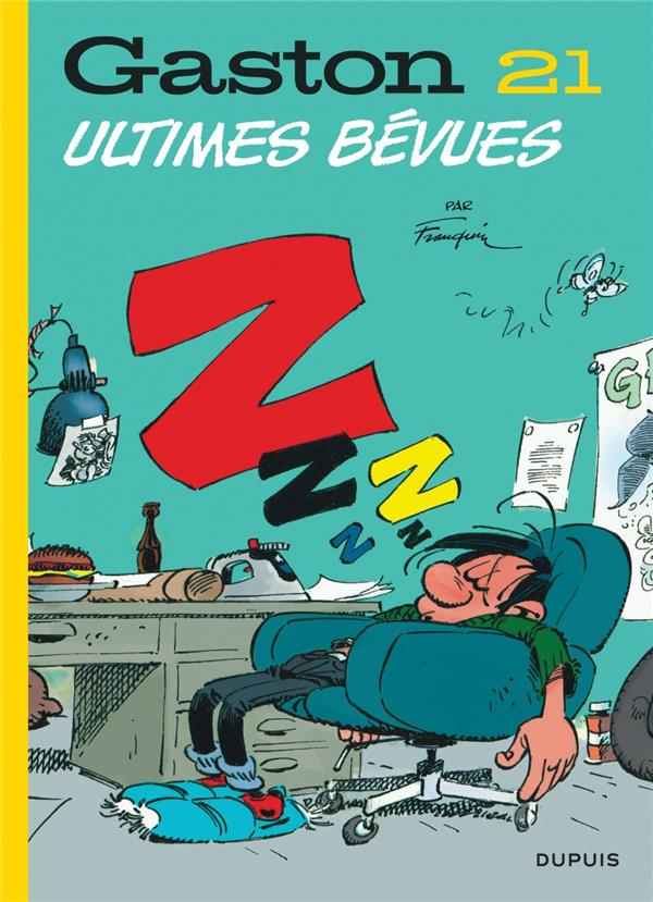 GASTON (EDITION 2018) - TOME 21 - ULTIMES BEVUES