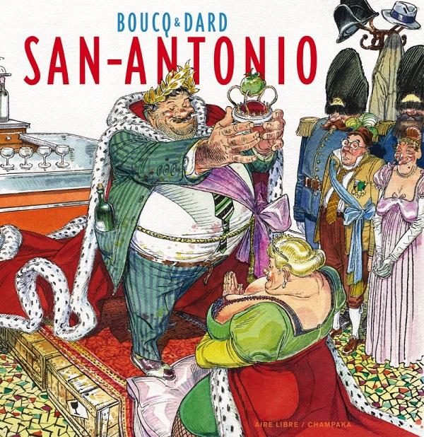 ARTBOOK BOUCQ - TOME 0 - SAN ANTONIO (EDITION SPECIALE)