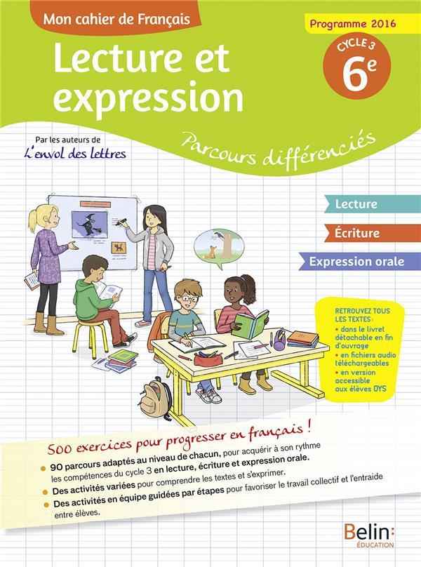 CAHIER D'ACCOMPAGNEMENT PERSONNALISE FRANCAIS 6EME