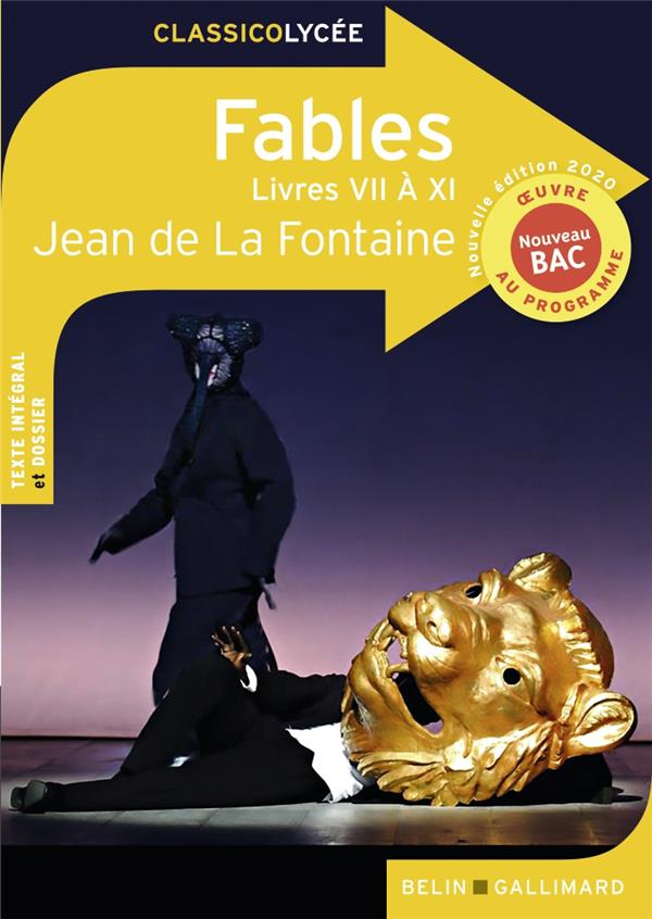 FABLES (LIVRES VII A XI) - NOUVELLE EDITION 2020