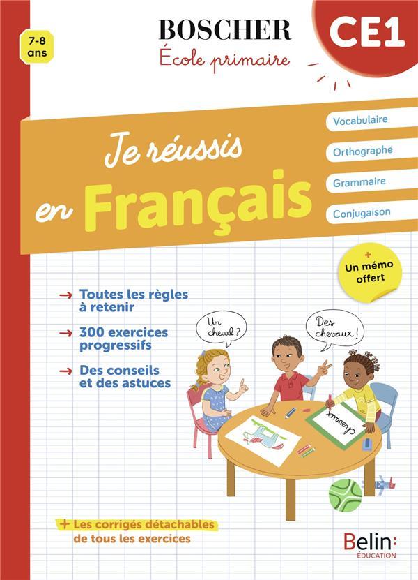 JE REUSSIS EN FRANCAIS CE1
