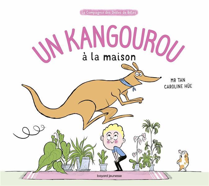 UN KANGOUROU A LA MAISON