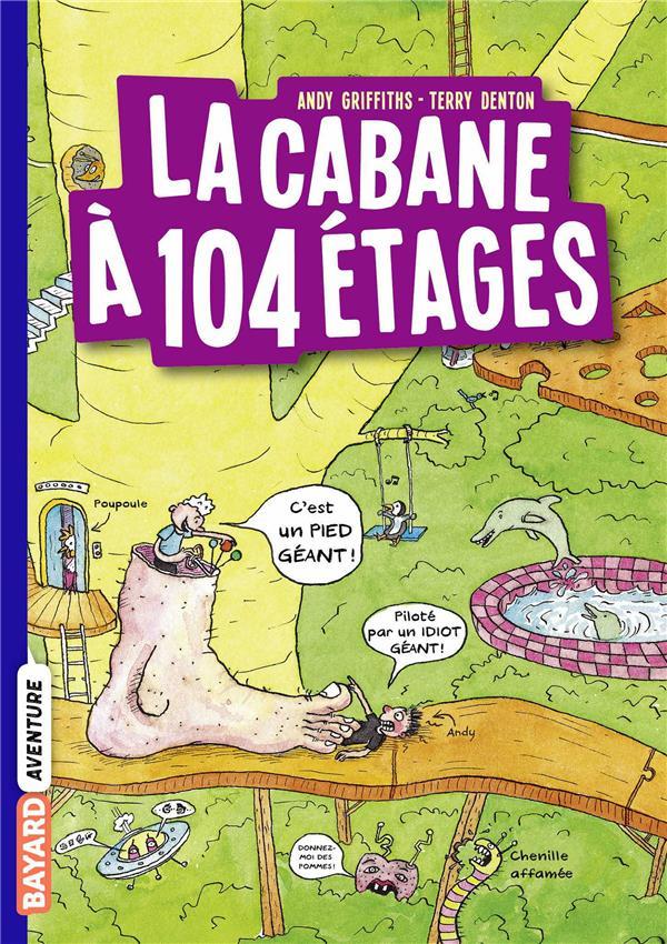 LA CABANE A 13 ETAGES, TOME 08 - LA CABANE A 104 ETAGES POCHE
