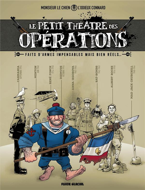 PETIT THEATRE DES OPERATIONS (LE) - LE PETIT THEATRE DES OPERATIONS - TOME 01 - FAITS D'ARMES IMPENS