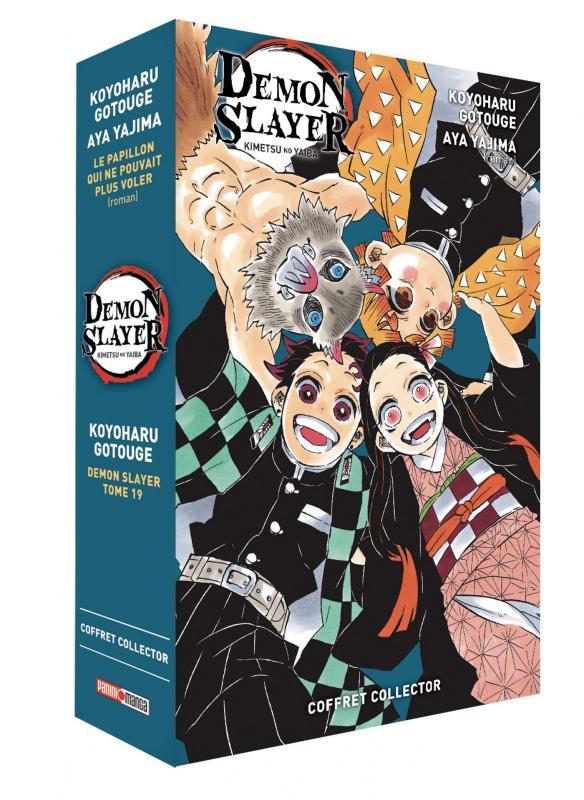 DEMON SLAYER - COFFRET (T19 + ROMAN N 02)