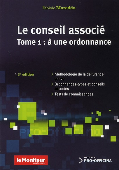 LE CONSEIL ASSOCIE A UNE ORDONNANCE TOME 1 3EED