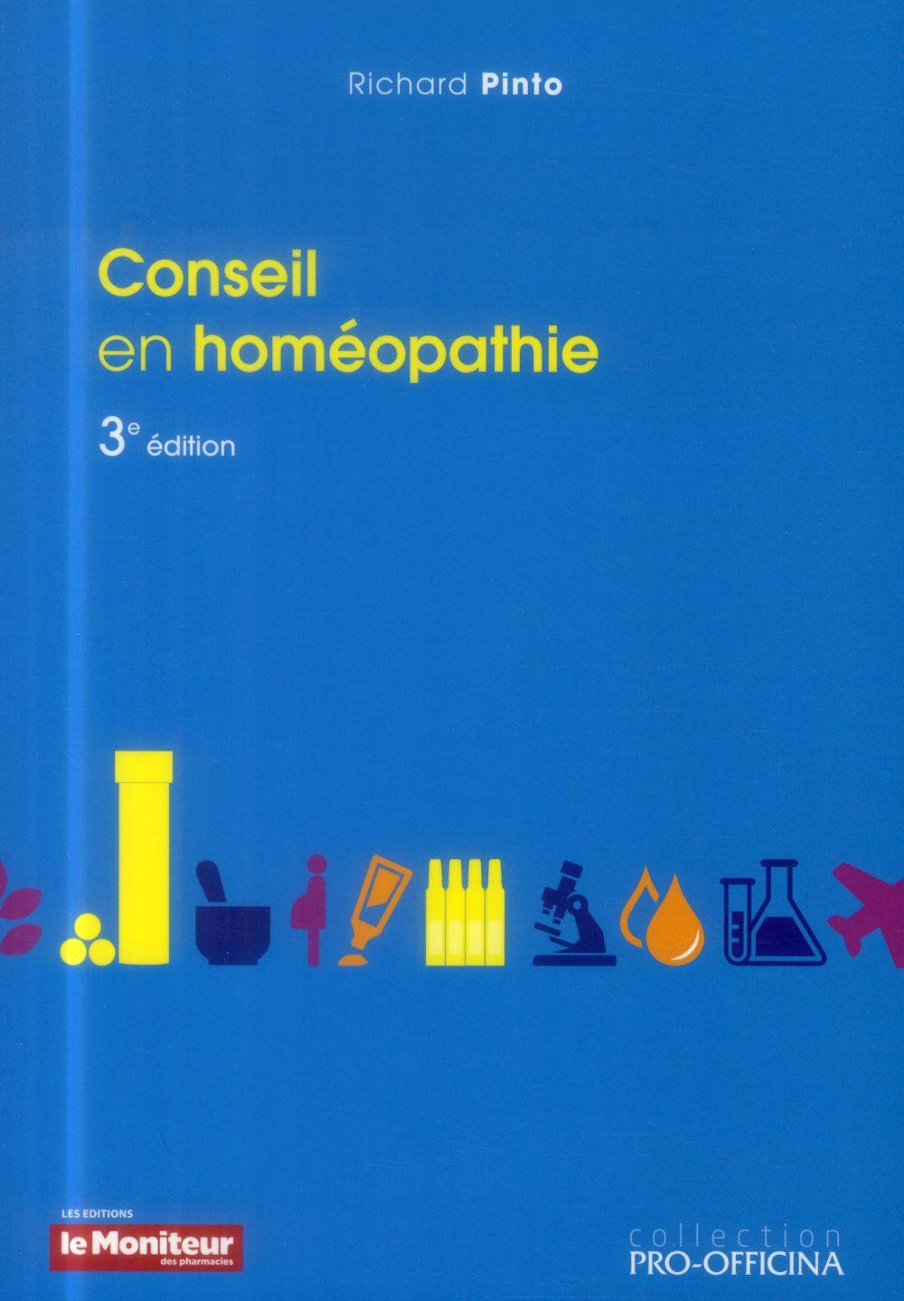 CONSEIL EN HOMEOPATHIE 3E ED