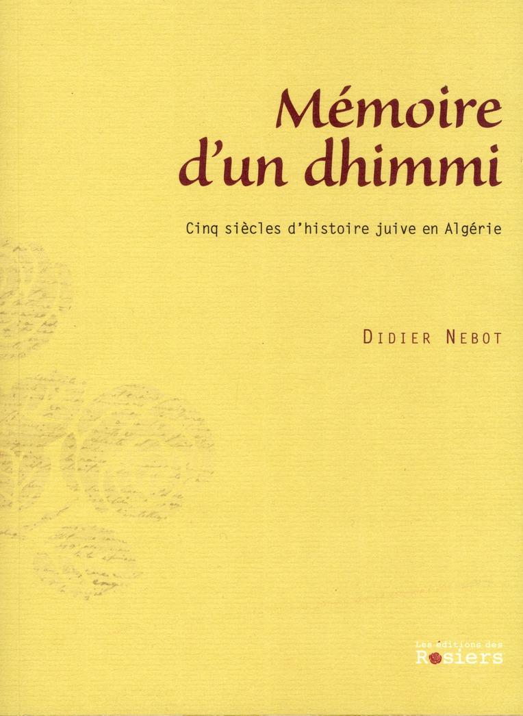 MEMOIRE D'UN DHIMMI