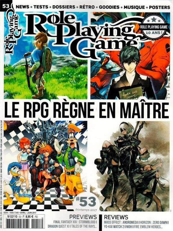 ROLE PLAYING GAME 53 AVRIL/JUIN 2017