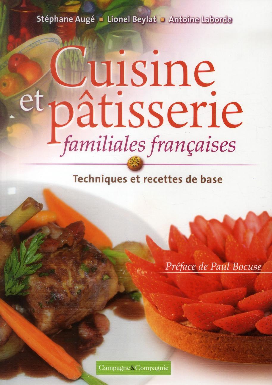 CUISINE ET PATISSERIE FAMILIALES FRANCAISES