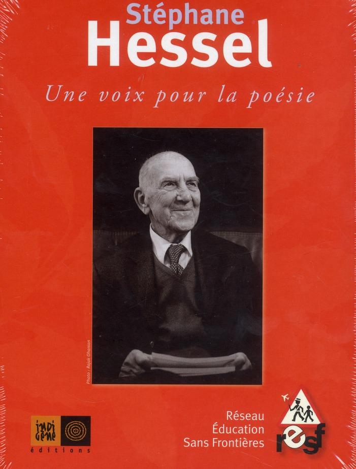 STEPHANE HESSEL, UNE VOIX POUR LA POESIE - DVD