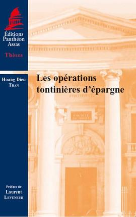 LES OPERATIONS TONTINIERES D'EPARGNE