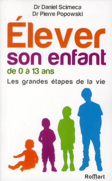 ELEVER SON ENFANT DE 0 A 13 ANS .LES GRANDES ETAPES DE LA VIE