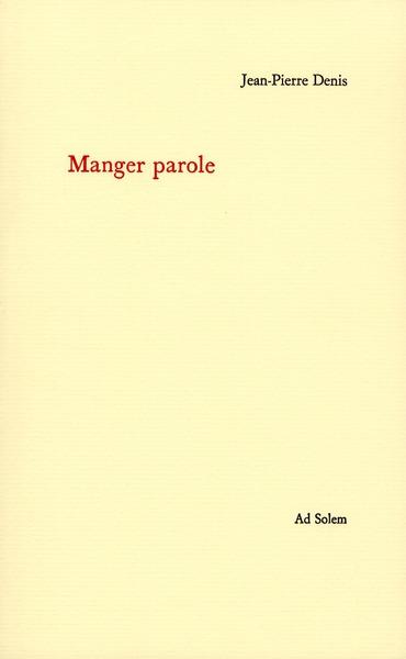 MANGER PAROLE