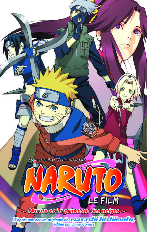 T1 - ANIME COMICS NARUTO ET LA PRINCESSE DES NEIGES