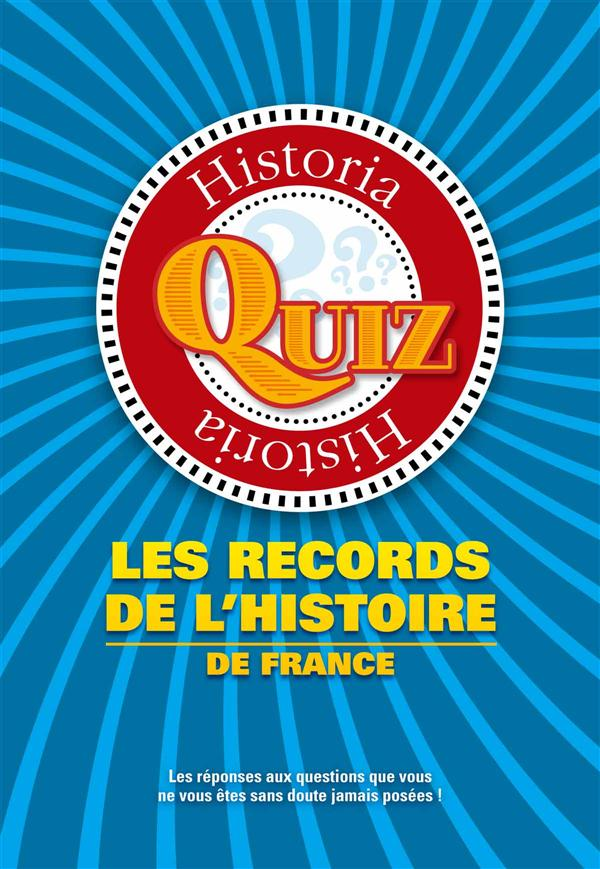 QUIZ DES RECORDS