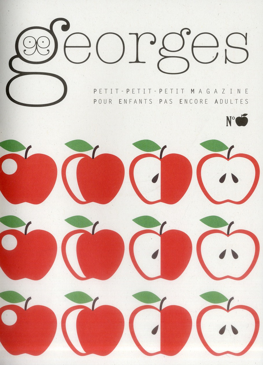 MAGAZINE GEORGES N 10 - POMME