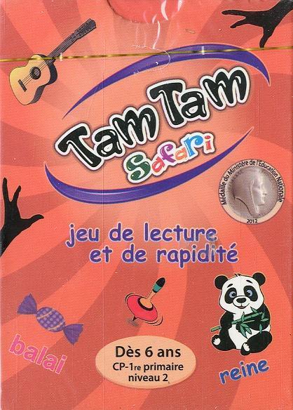 TAM TAM -  SAFARI CP NIVEAU 2 - JOUET