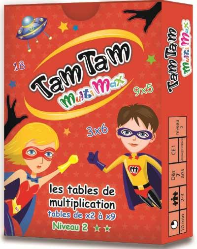 TAM TAM -  MULTIMAX 2 - LES TABLES DE MULTIPLICATION DE X2 A X9 - JOUET