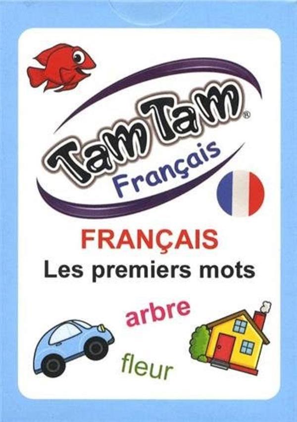TAM TAM FRANCAIS -  LES PREMIERS MOTS - JOUET