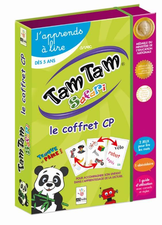 TAM TAM SAFARI, J APPRENDS A LIRE - LE COFFRET CP
