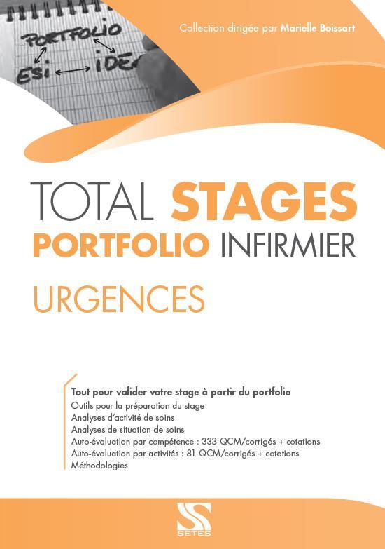 URGENCES - TOTAL STAGES/PORTFOLIO INFIRMIER