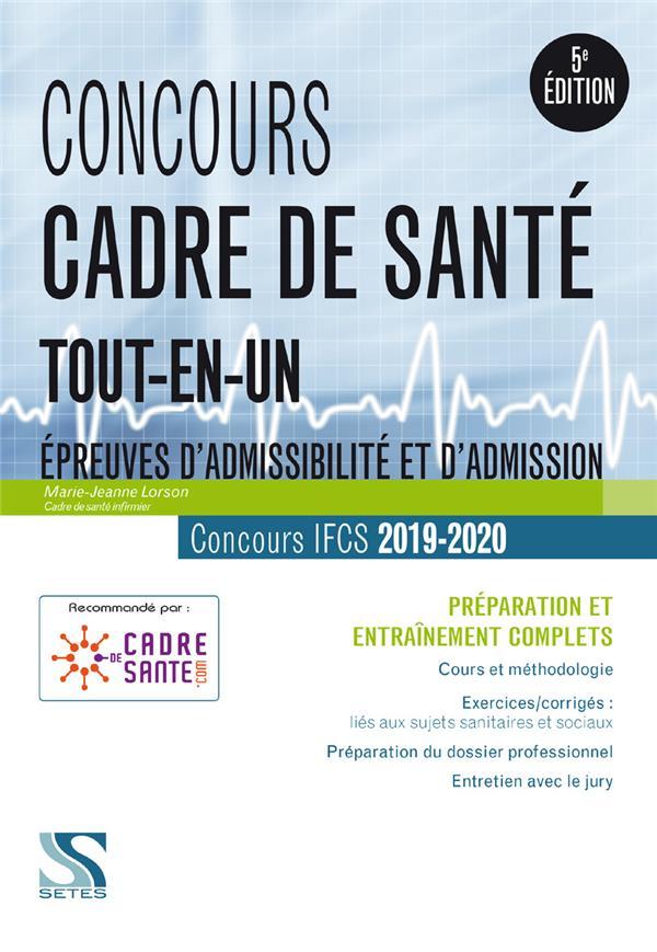CONCOURS CADRE DE SANTE 2019-2020 - TOUT-EN-UN