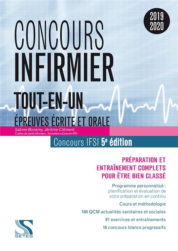 CONCOURS INFIRMIER 2019 - TOUT-EN-UN