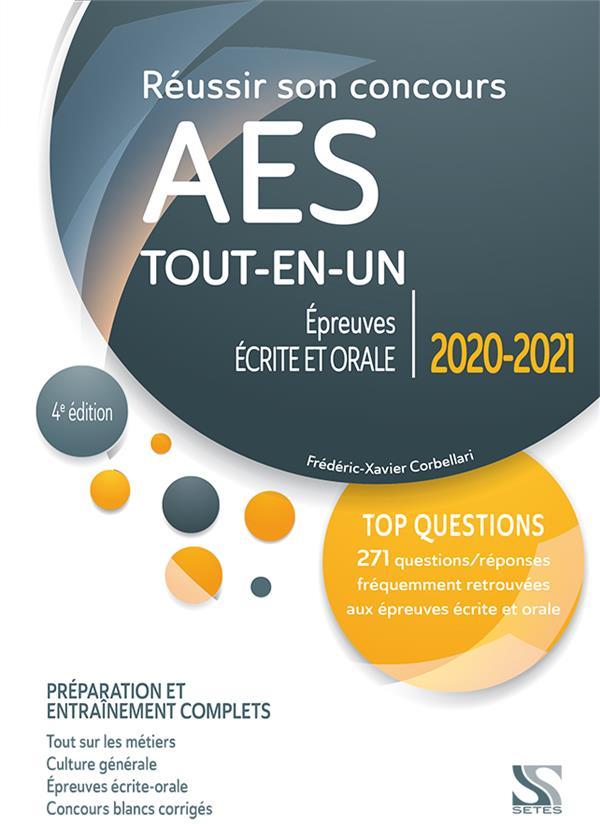 REUSSIR SON CONCOURS AES 2020-2021 - TOUT-EN-UN
