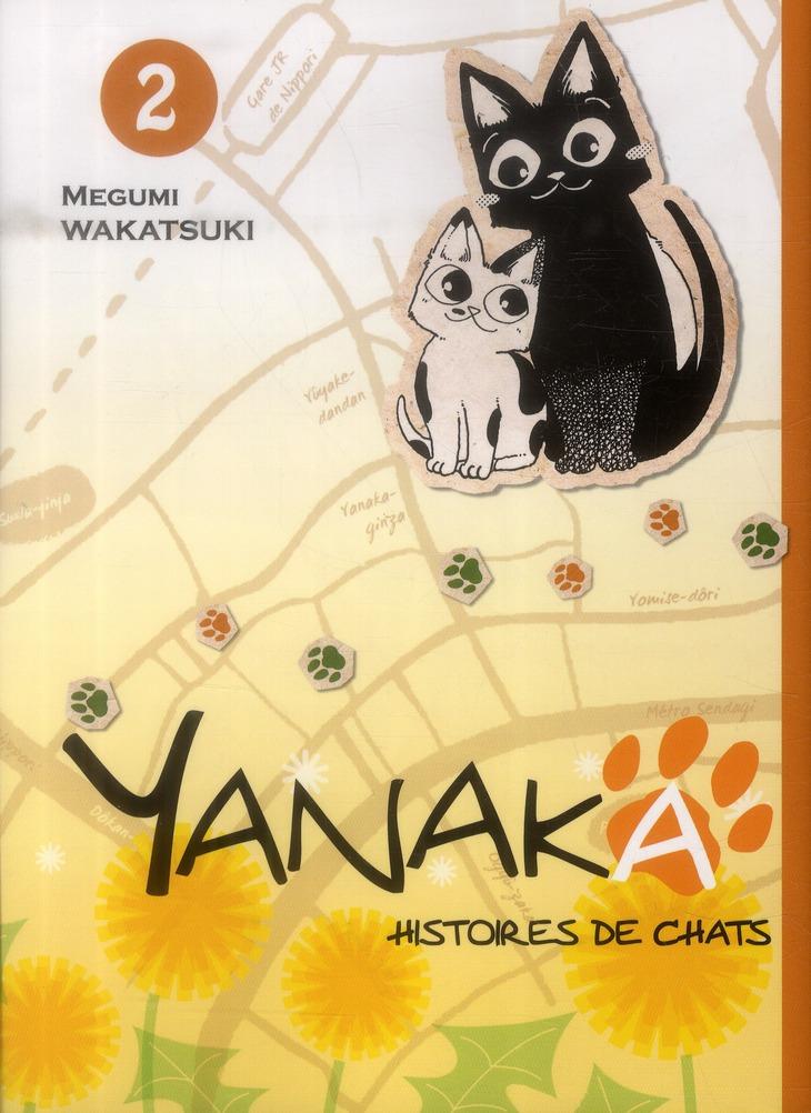 YANAKA - HISTOIRES DE CHATS - TOME 2 - VOL02