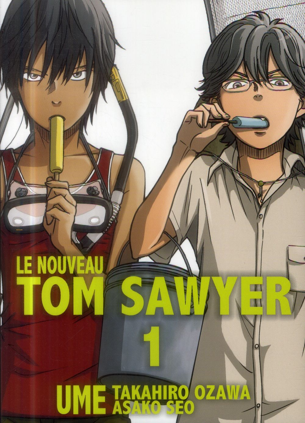 LE NOUVEAU TOM SAWYER - TOME 1
