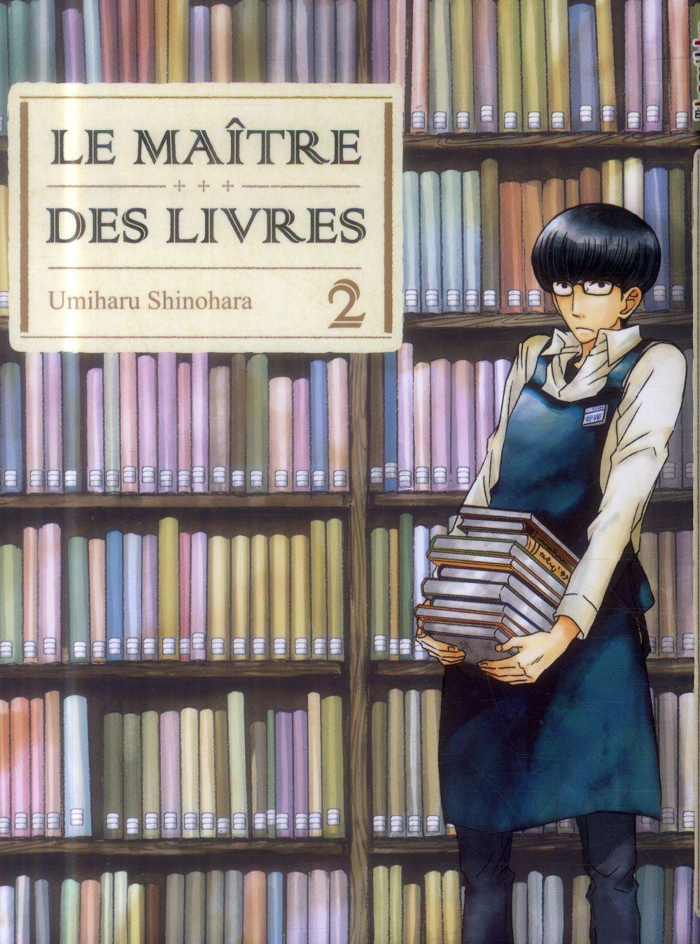 LE MAITRE DES LIVRES - TOME 2
