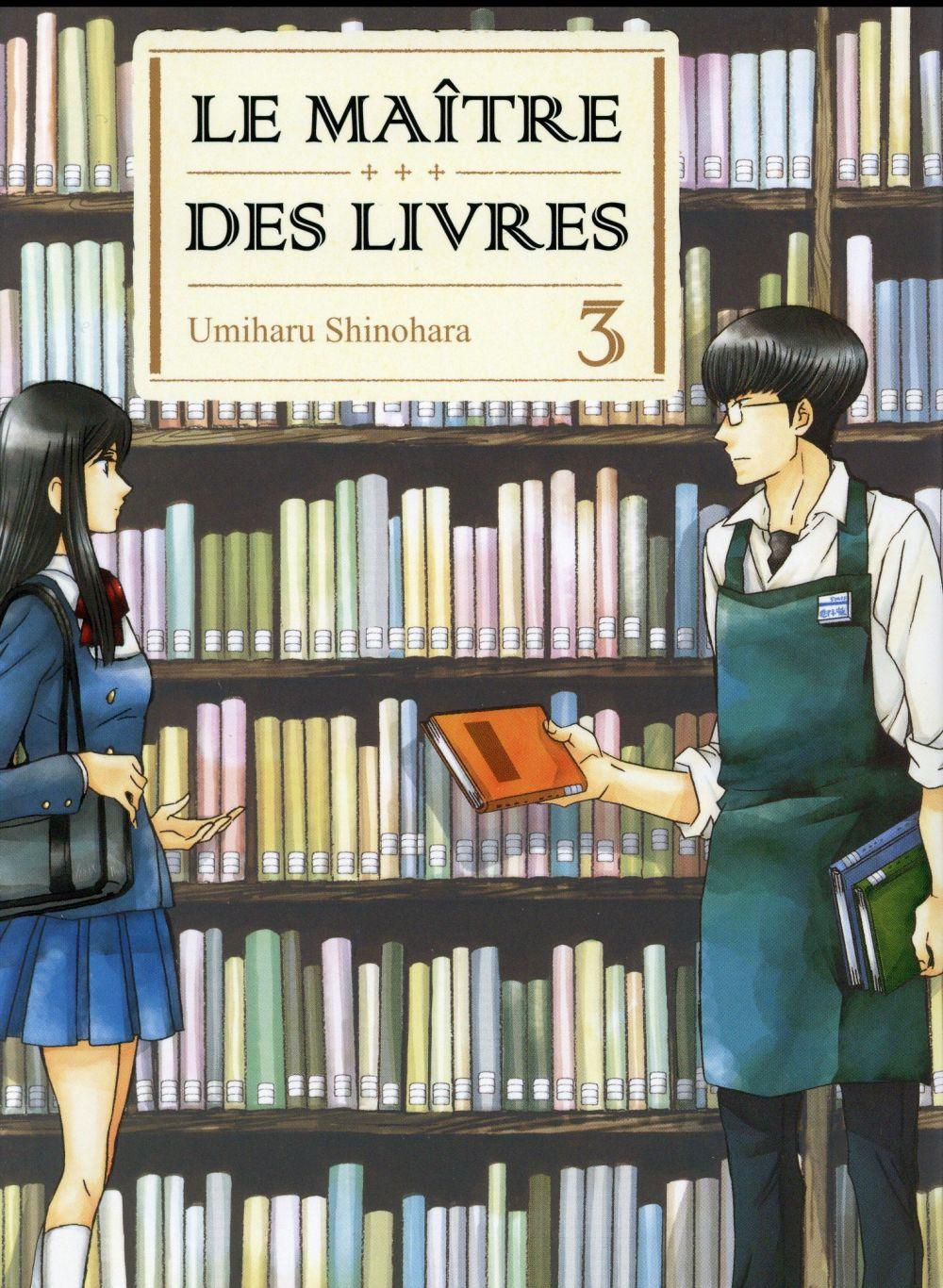 LE MAITRE DES LIVRES - TOME 3