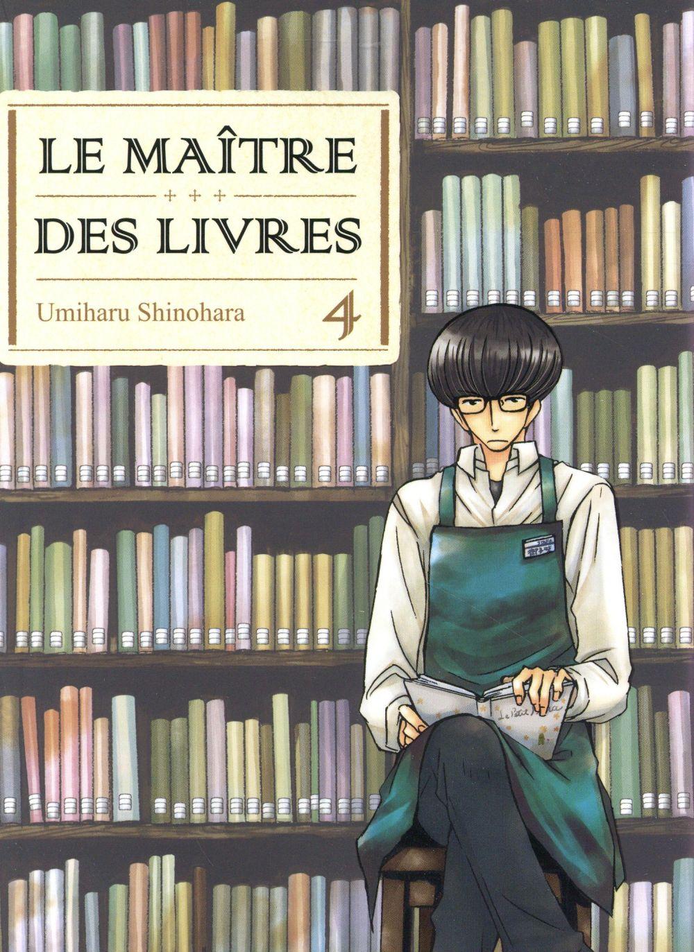 LE MAITRE DES LIVRES - TOME 4