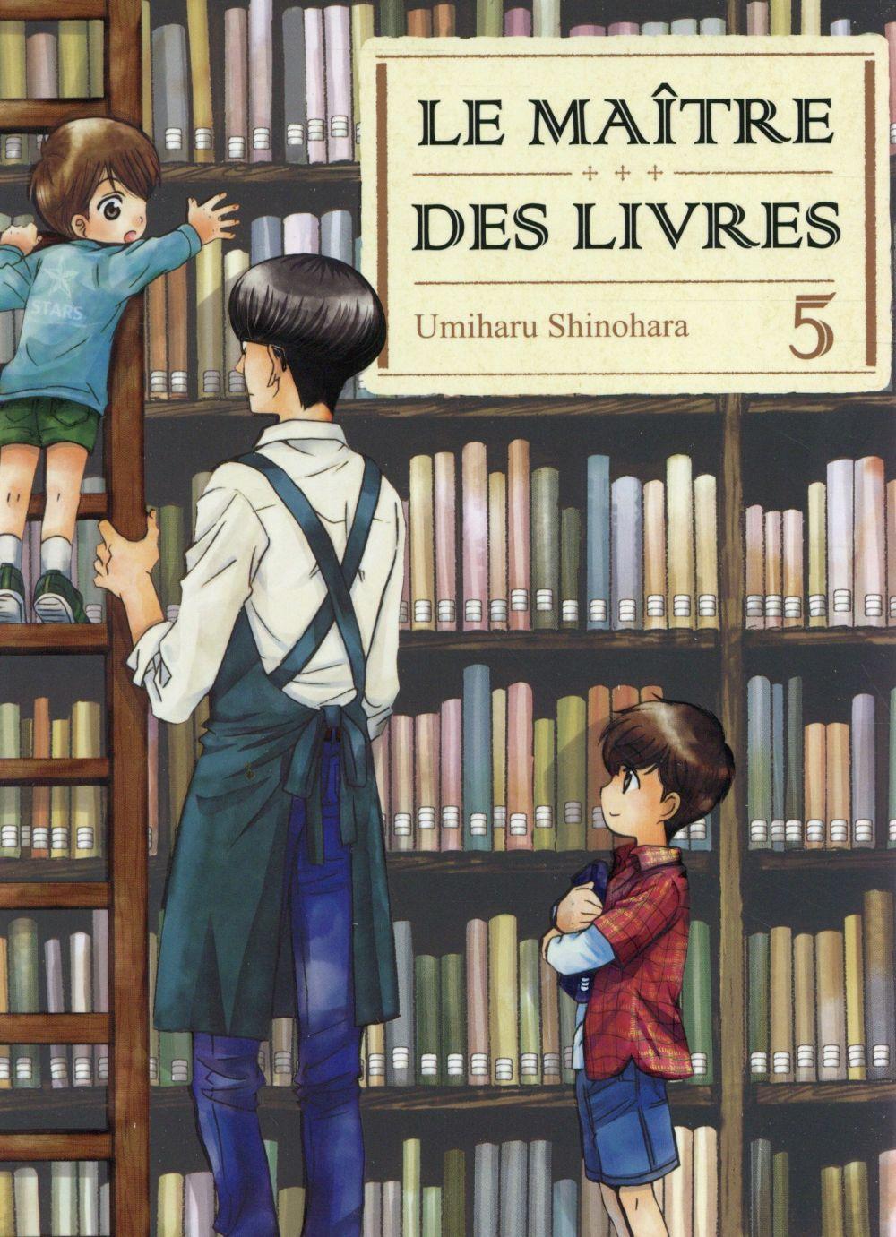 LE MAITRE DES LIVRES - TOME 5